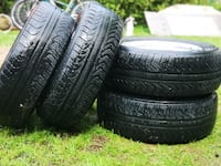 All Season Tires Pirelli 215/65/R16  with Rims Excellent Condition