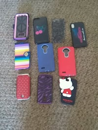 10 different phone cases, fits assortment of phone Morristown, 37814