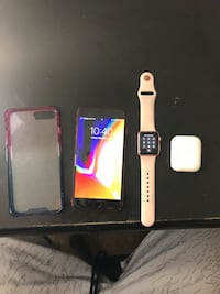 iPhone 8 Plus product red Apple Watch series 1 38mm and Apple AirPods bundle T-Mobile Tucson, 85711