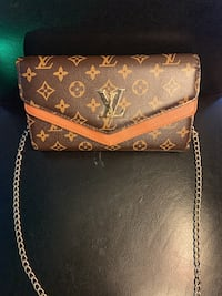 LV PURSE/CLUTCH BAG (Tan) Alexandria