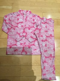 pink half-zip long-sleeved shirt and pink pants Mississauga, L5V 1J2