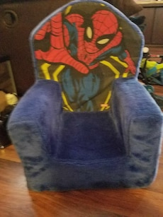Spiderman Blue Chair