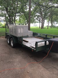Black and brown utility trailer and/or Bird Hunters Dog Trailer  Dallas, 75251