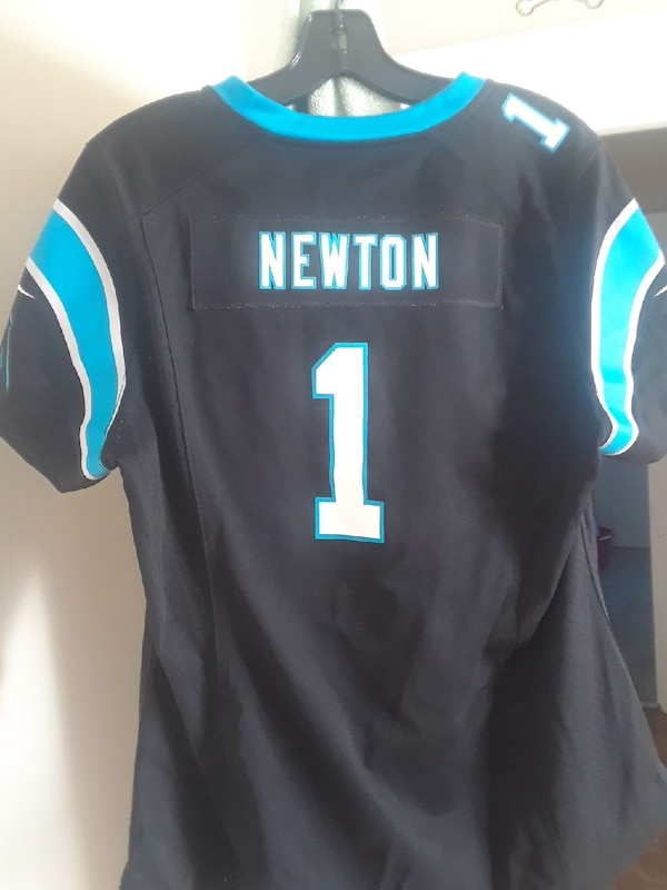 282969b1dab Used black and blue Newton 1 jersey for sale in Conover - letgo