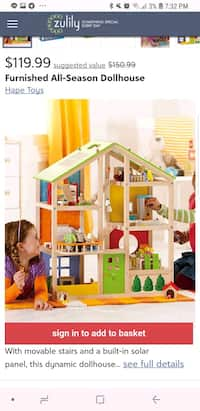 Used Pink And Purple Plastic Dollhouse For Sale In Jacksonville Letgo