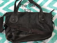 black leather Coach tote bag Barrie, L4N