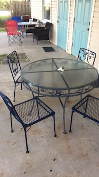 wrought iron  table  and chairs Flagler Beach, 32136