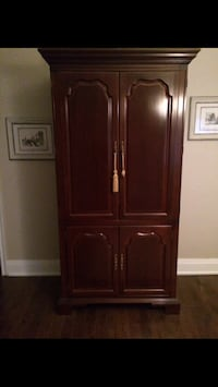 Brown wooden armoire Mississauga, L5P