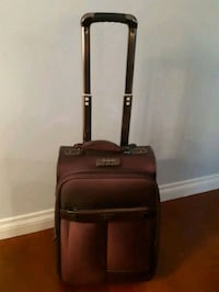 black and brown luggage bag Coquitlam, V3J 6T3