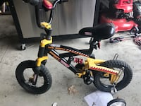 toddler's yellow and black bicycle Albany, 12205