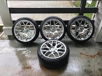 Tires And Rims Silver Finish Vancouver, V5M 2W9