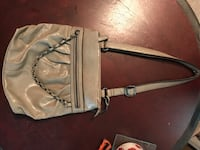 gray and black leather crossbody bag New Orleans, 70130