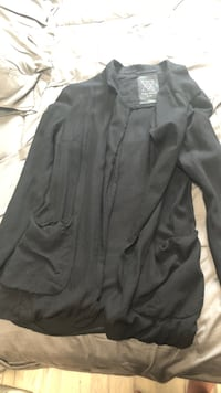 black zip-up jacket Waterloo, N2L 3V2