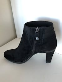GEOX Anckle Black Boots 6.5 Vancouver