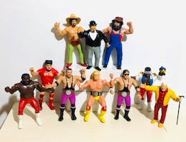 Vintage LJN WWF WWE Wrestling Figures w/ accessories! check info below