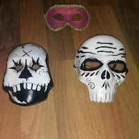 3 CERAMIC MASKS  St. Catharines