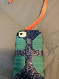 blue and green iPhone case McSherrystown, 17344