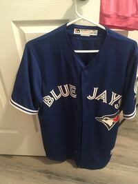 Authentic Majestic Blue Jays Jersey with 40th season patch Mississauga, L5N 7H1
