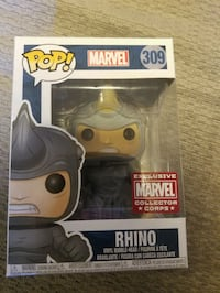 Pop marvel exclusive marvel collector corps rhino  Lancaster, 93535
