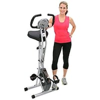 Exerpeutic Folding Magnetic Upright Bike w/pulse Alexandria, 22315
