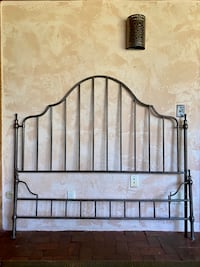 bohemian queen iron bed frame