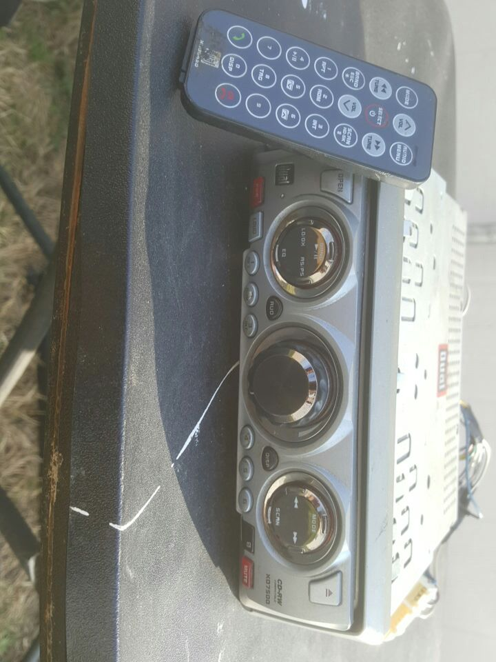 Used dual cd rw xd7500 w remote and wiring harness for sale in dual xd7600 used dual cd rw xd7500 w remote and wiring harness for sale in omaha letgo