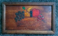 brown wooden framed painting of fruits Jacksonville, 32210