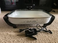 Like New Lorena Bella Jumbo Electric Skillet Broadlands, 20148