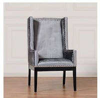 Grey High Back Alonso Chair.