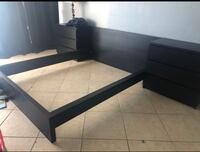 bedroom set *QUEEN SIZE* Mattress rails are NOT INCLUDED * North Bay Village, 33141