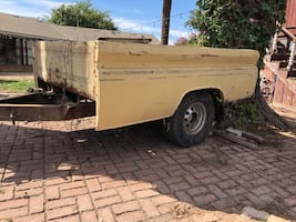 Chevrolet - parts $200 ..... 63 Chevy trailer 1947 to 1954 Chevy parts hoods .doors front fenders and other parts starting