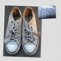 pair of white Converse low-top sneakers Denver, 80249