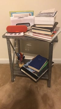 Side Table (silver - 30 inches tall) Arlington, 22207
