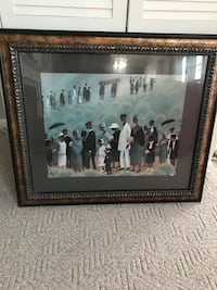 """Framed Wall Art """"Funeral Procession"""" Clinton, 20735"""