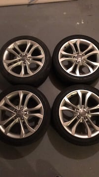 """Audi 18"""" oem rims, tires need to be replaced Warrenton, 20187"""