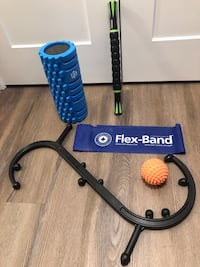 Foam and muscle roller, trigger massage stick and massage ball