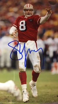 Steve young autograph with coa Medford, 97501