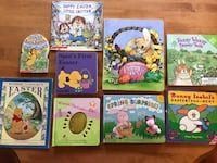 assorted color book collection in box Jackson, 08527