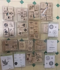 Rubber Stamps, Papercraft,  and Scrapbooking Items