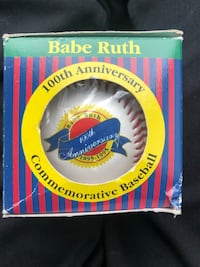Babe Ruth 100th anniversary commemorative baseball Chicago, 60608