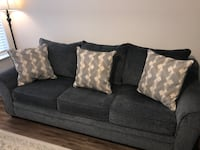 Couch (full size sleeper), love seat, and table Suffolk, 23435