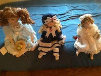 These are porcelain dolls in perfect condi Fresno