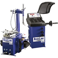 Base Line Tire changer & Wheel Balancer