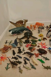 80 total Sea creatures/ Animals (,exact cash only)