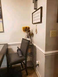 dining room table/various kitchen accessories