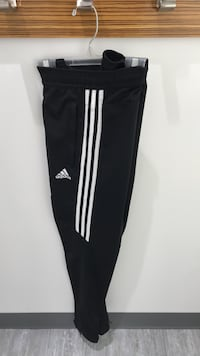 black and white Adidas track pants Montréal, H4R 1Y8