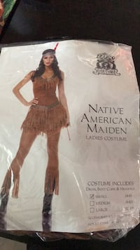 Indian costume size small Oxnard, 93035