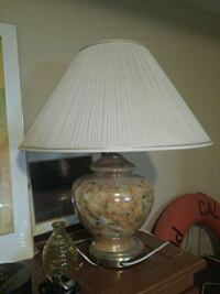 white and brown table lamp North Saanich, V8L 3Z5