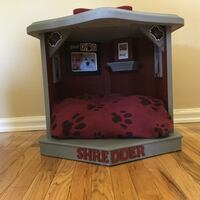 Repurposed 1970s side table/ pet bed  Calgary, T2C 3W9