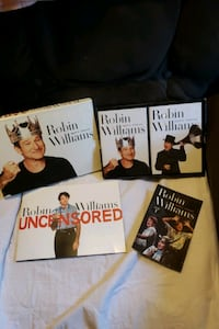 ROBIN WILLIAMS UNCENSORED 24 disc set.(previously listed @ $50.00).